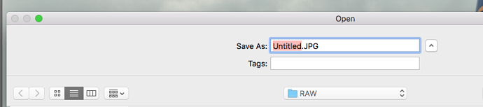 macOS-export-default-filename