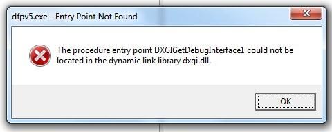 Startup error